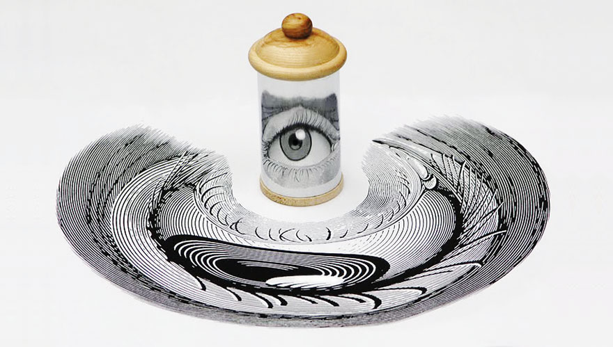 Eye Illusion Art