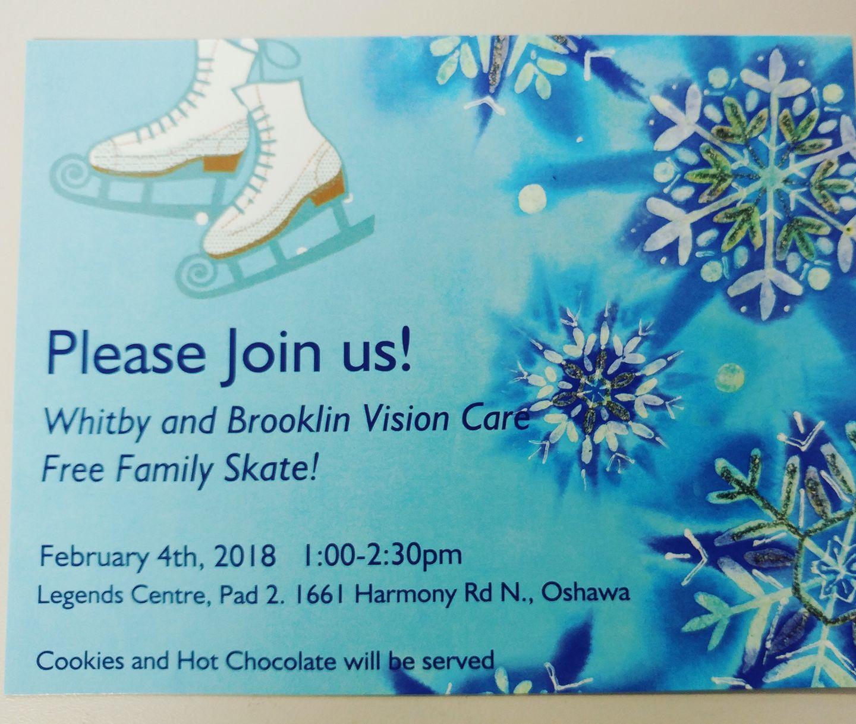 Free Family Skate!