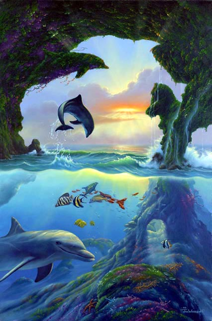Dolphin Visual Puzzle